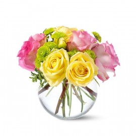 Bouquet limonade rose